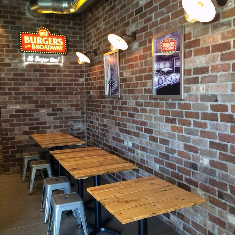 Burgers on broadway, sydney, nsw