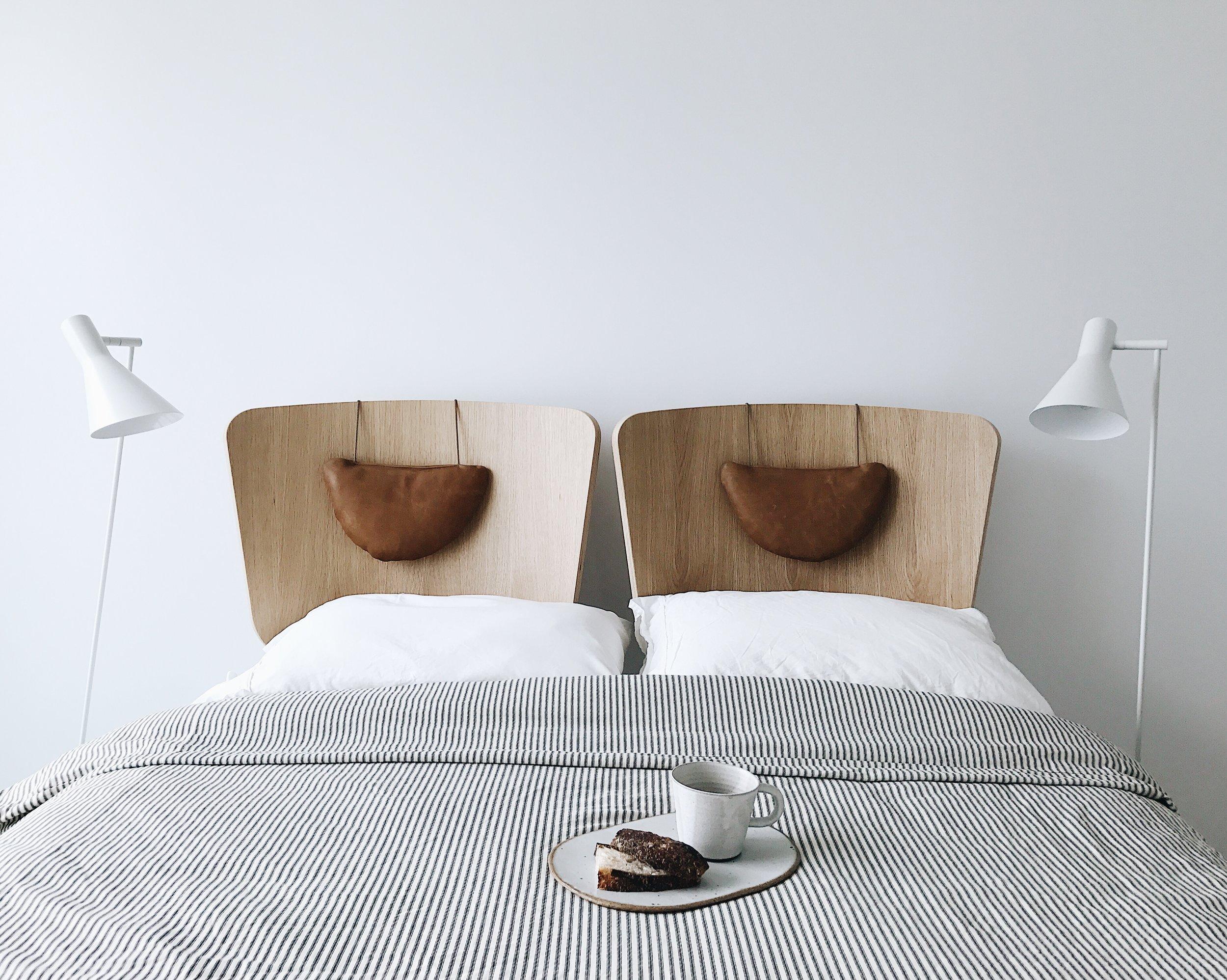 scandinavian bed headboards