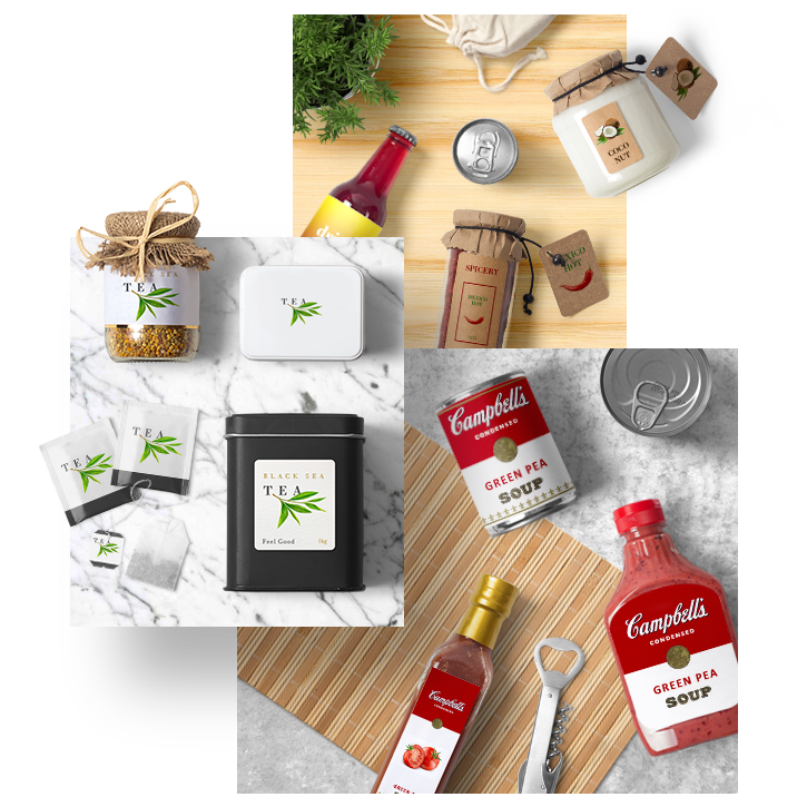 31 Jam, Jar, Bottle And Sauce MockUps - Many different materials and sizes. Metal or glass packs, coke cans, some plastic drink packs, sauce and jar packs, hand made organic products packs. All of them delicious and easy to customize according to your brand.Full Preview