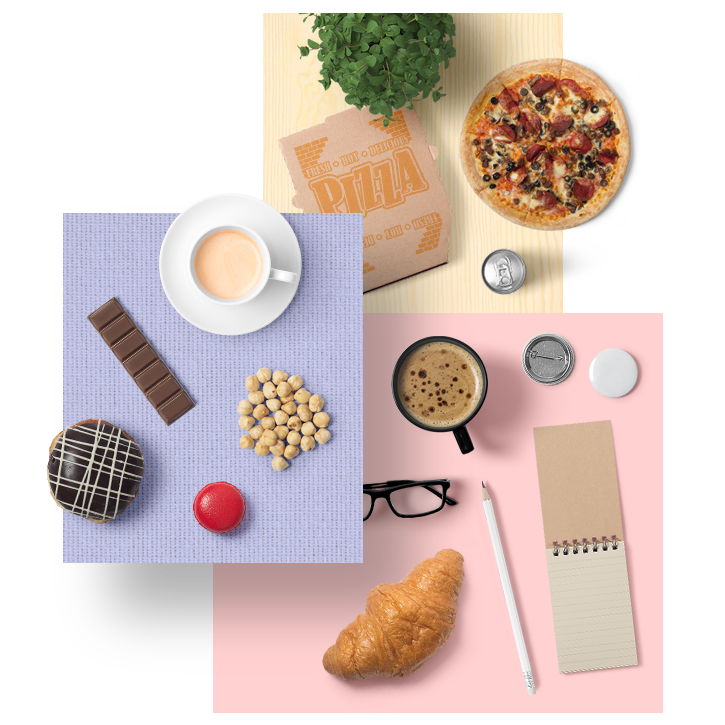 55 Tasty Snacks And Foods - We've included many different edible items in this pack. Pizza, breads, croissant, hamburger, cake, macaroni, chocolate bars, donuts, coffee beans, egg and many delicious items. Unfortunately you can only drag and drop into your scene, you can not eat.Full Preview