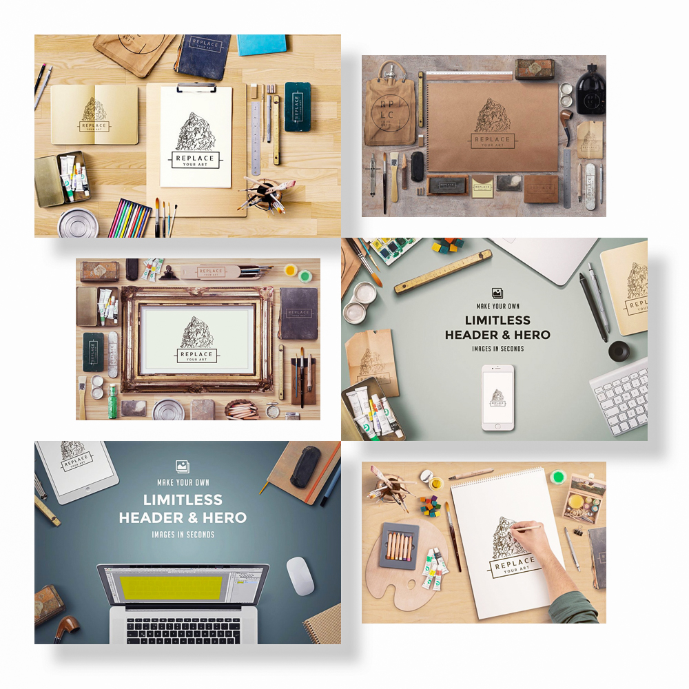 25 Pre-designed PSD Scenes - Are you lazy or have no time? Use one of ready made stages and get a quick result. All of them fully layered and includes light setup for a photo realistic image.Full Preview