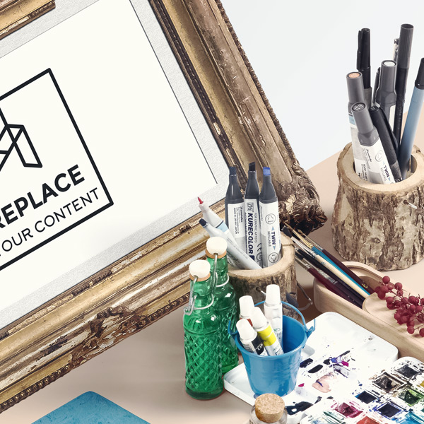 Realistic Results - No matter which item or mockup are you using inside of your scene. You will get always realistic results with this file.