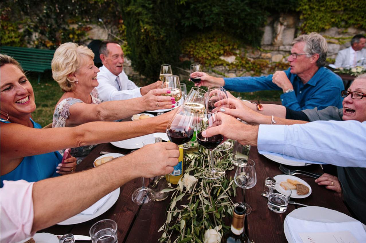 Italian wedding toast
