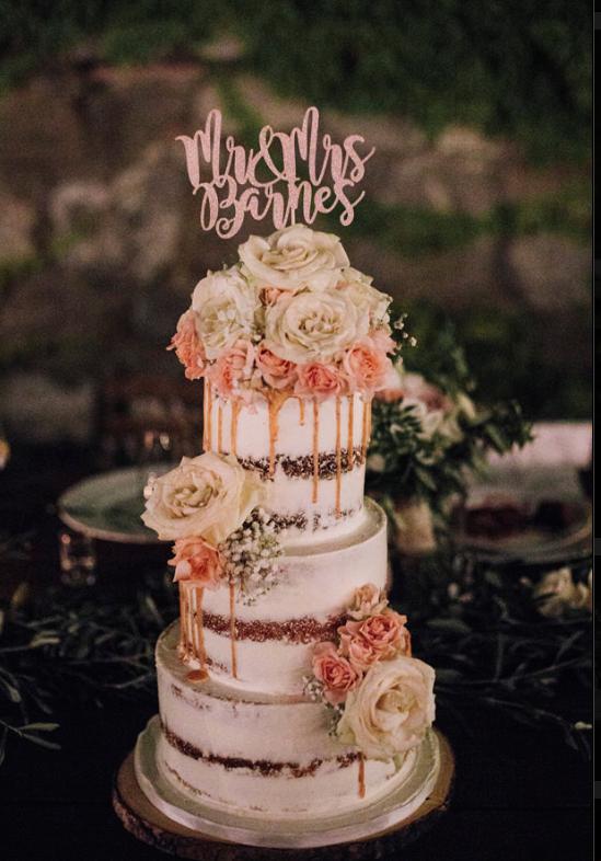 Tuscan wedding cakes