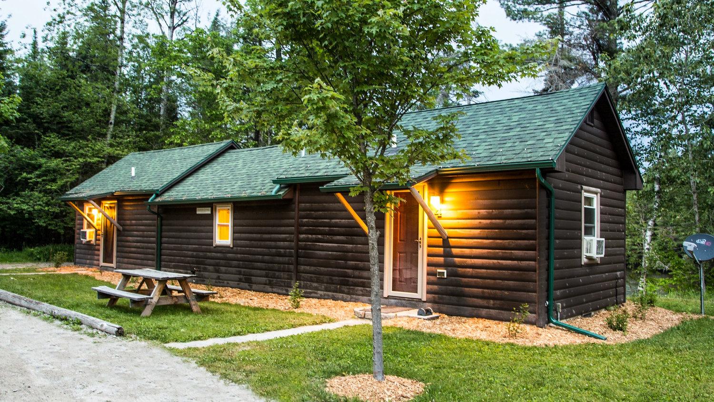 Au Sable Riverview Resort AuSable Riverview Cabins