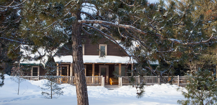 Au Sable Riverview resort The Lodge winter exterior Grayling Michigan.jpg