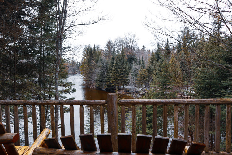 Au Sable Riverview resort The Lodge overlooking river Grayling Michigan.jpg
