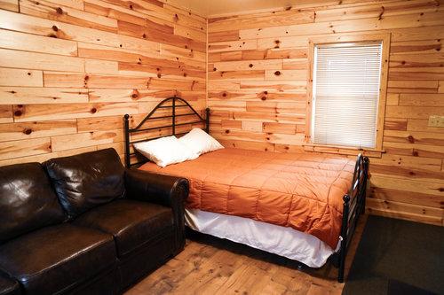Au Sable Riverview Resort Grayling Michigan The Cottage Bedroom 7.jpg