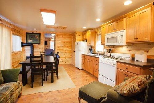 Au Sable Riverview Resort Grayling Michigan The Cottage Kitchen 9.jpg