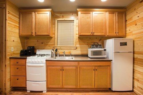 Au Sable Riverview Resort Cabin 1 Kitchen 5.jpg