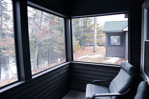 Au Sable Riverview Resort Cabin 2 porch Grayling 10.jpg