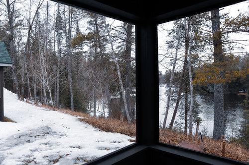 Au Sable Riverview Resort Cabin 3 porch Grayling 8.jpg