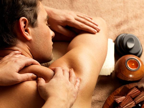 Massage van acupunctuur aan huis
