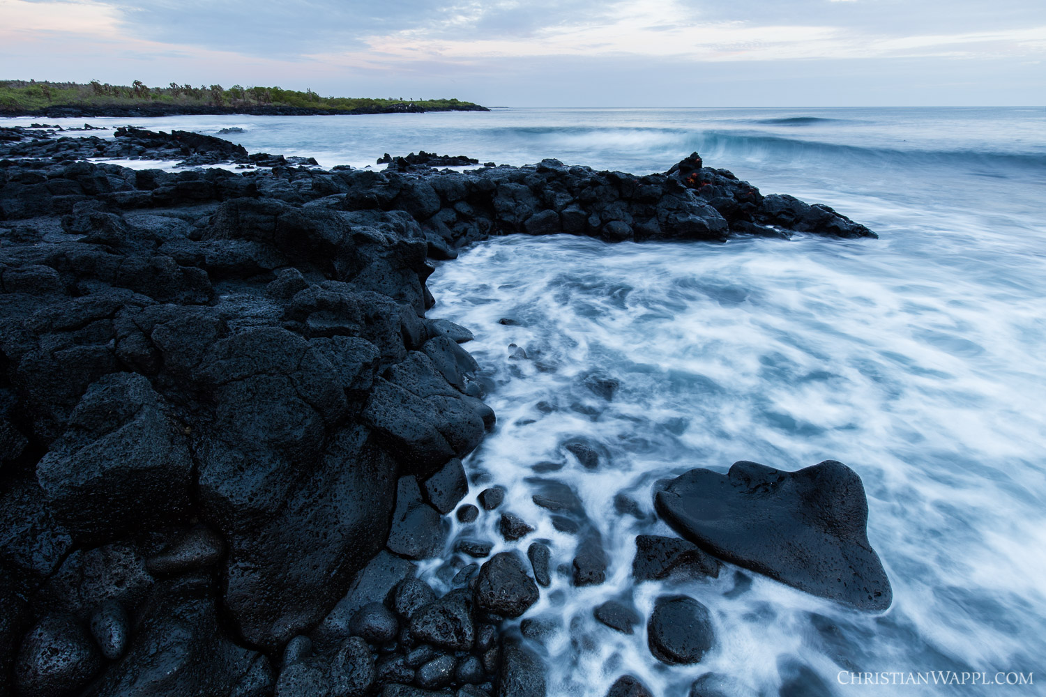 Tidal flow, Galápagos Islands