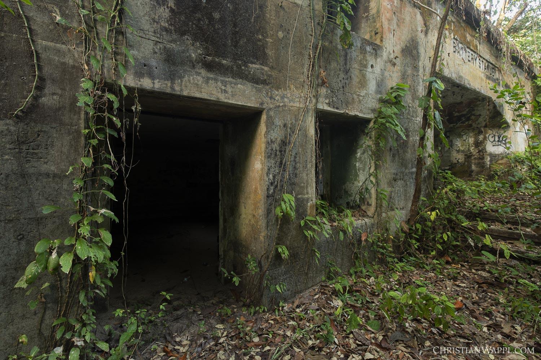 Naval gun battery, Panama