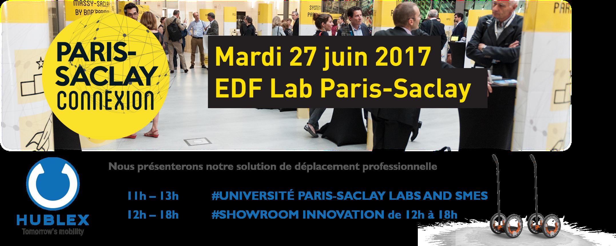 Paris Saclay Connexion - Les rendez-vous d'affaires de l'innovation