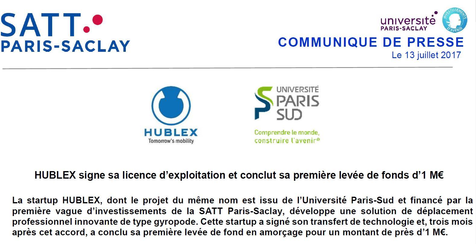 Plus d'informations sur les solutions professionnelles HUBLEX:   https://www.hublex.fr/fr/hublex-gyropode-professionnel
