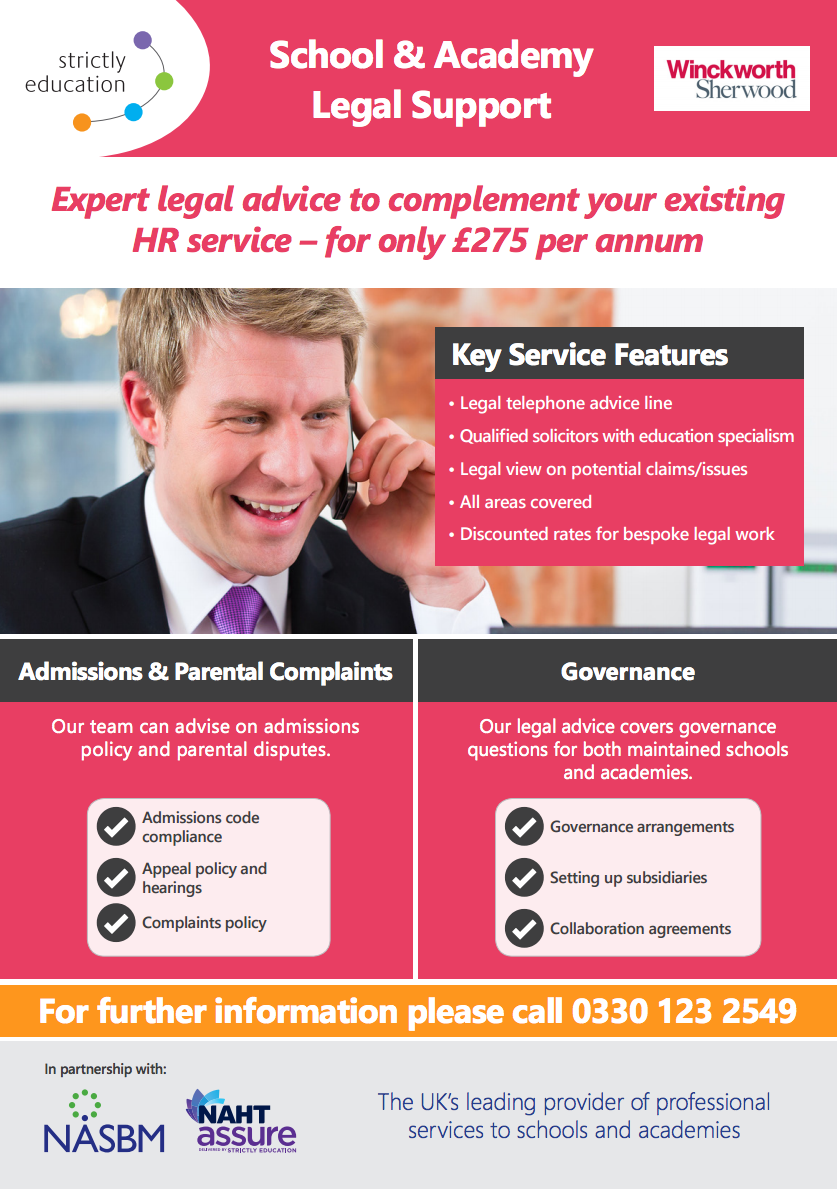 School & Academy Legal Support