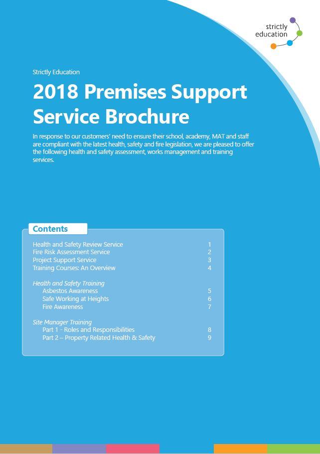 Premises Support Service Brochure 2018