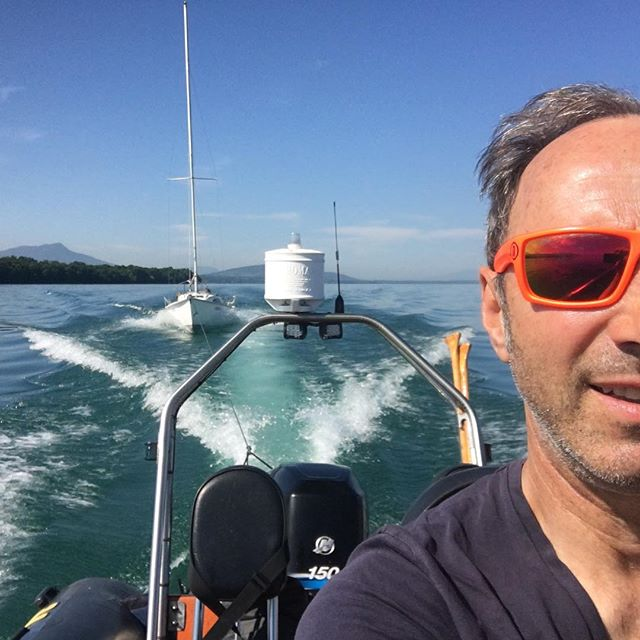 Delivery to our first regatta of the season. #regatta #lacleman #ouchy #thononlesbains #summertime