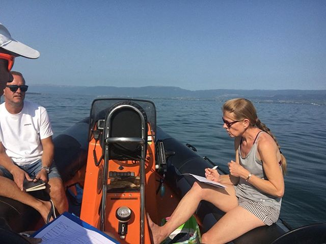 How to have a productive meeting. #workinghard #gettingthejobdone #lakegeneva #thonon #skiinstructorsinsummer