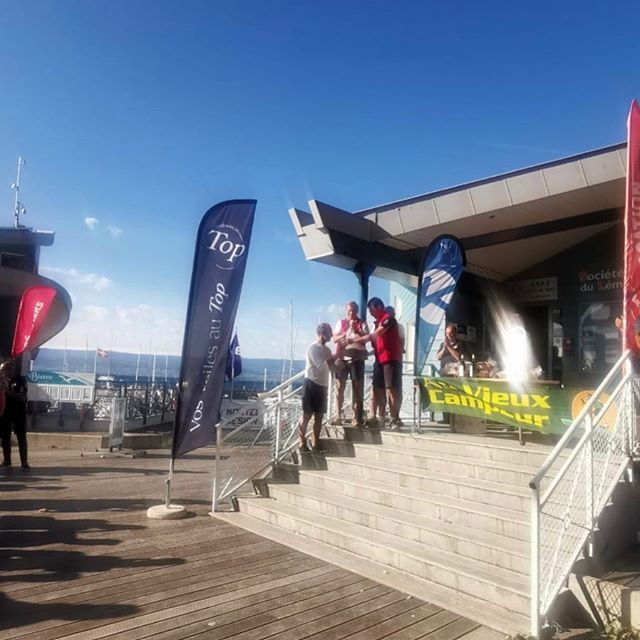 3rd Criterium Surprise Thonon. #podium #regatta #regattalife #sailing #thononlesbains
