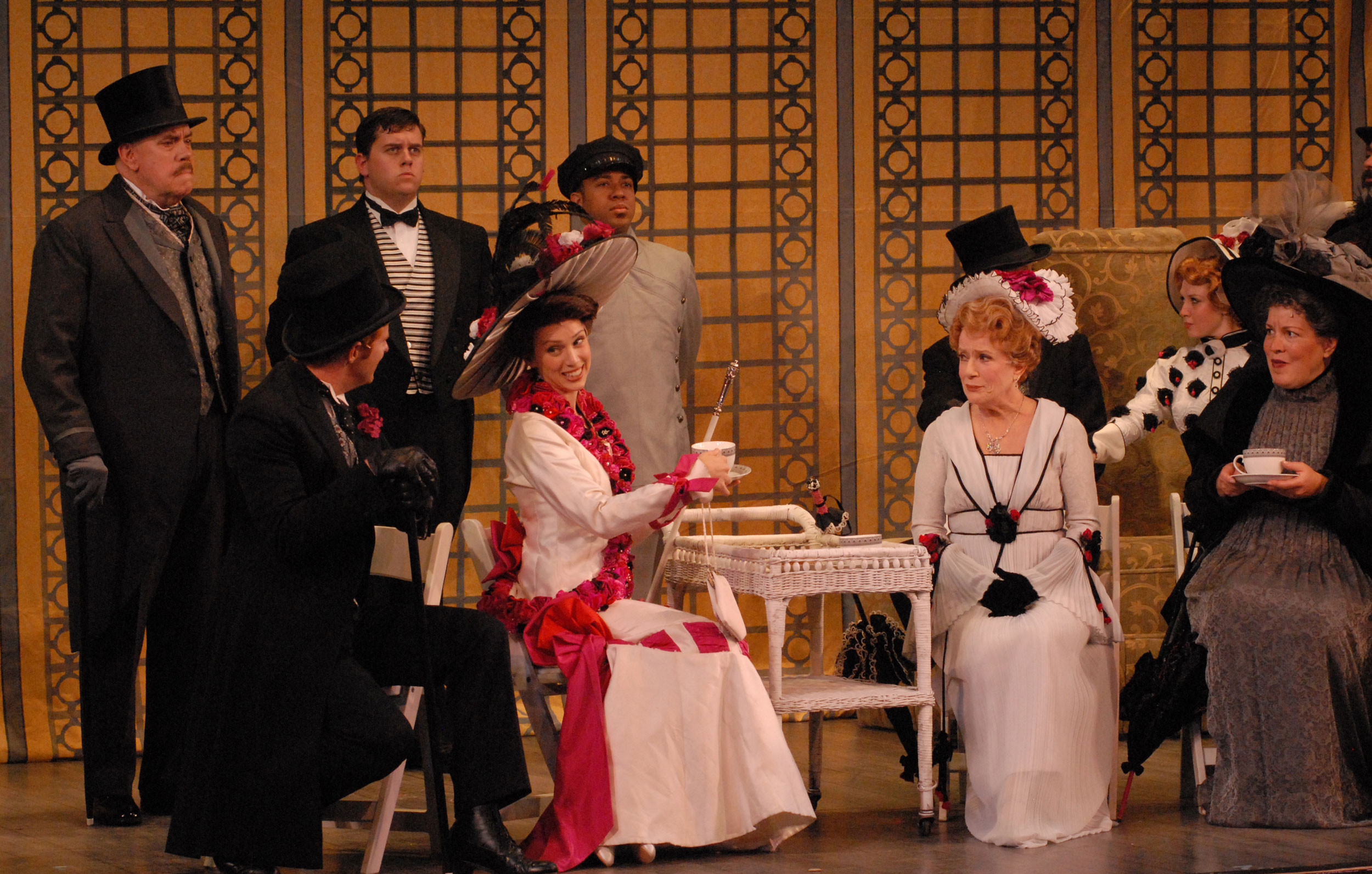 The-cast-of-My-Fair-Lady---Gail-Bennett-as-Eliza-and-Nancy-Dussault-as-Mrs-Higgins.jpg