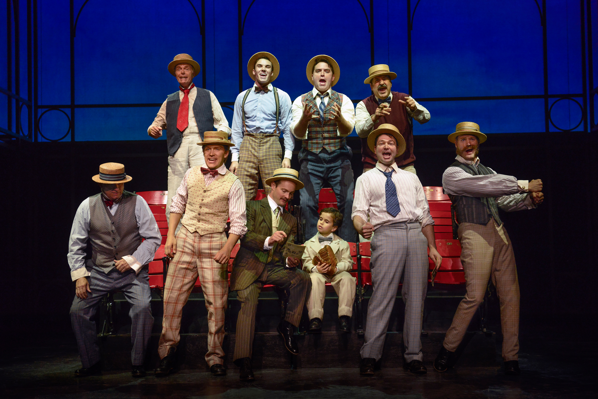 Ragtime at the Ogunquit Playhouse, 2017 -photo by Gary Ng