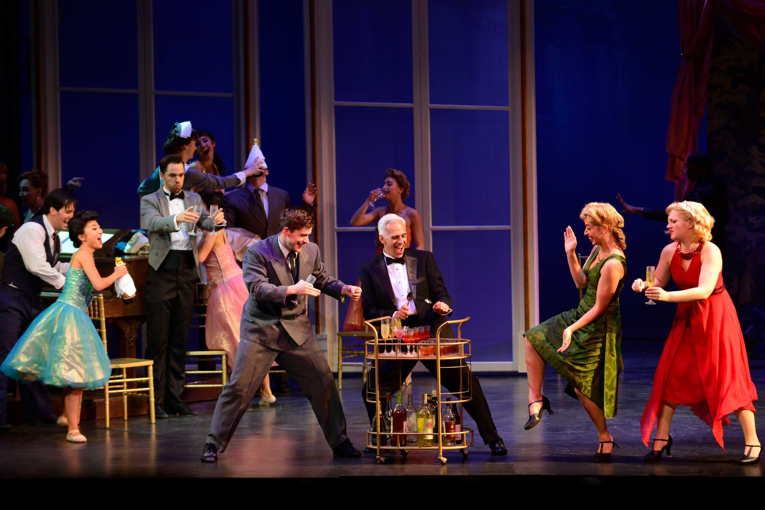 The 2018 production of An American in Paris. Photo by Gary Ng.