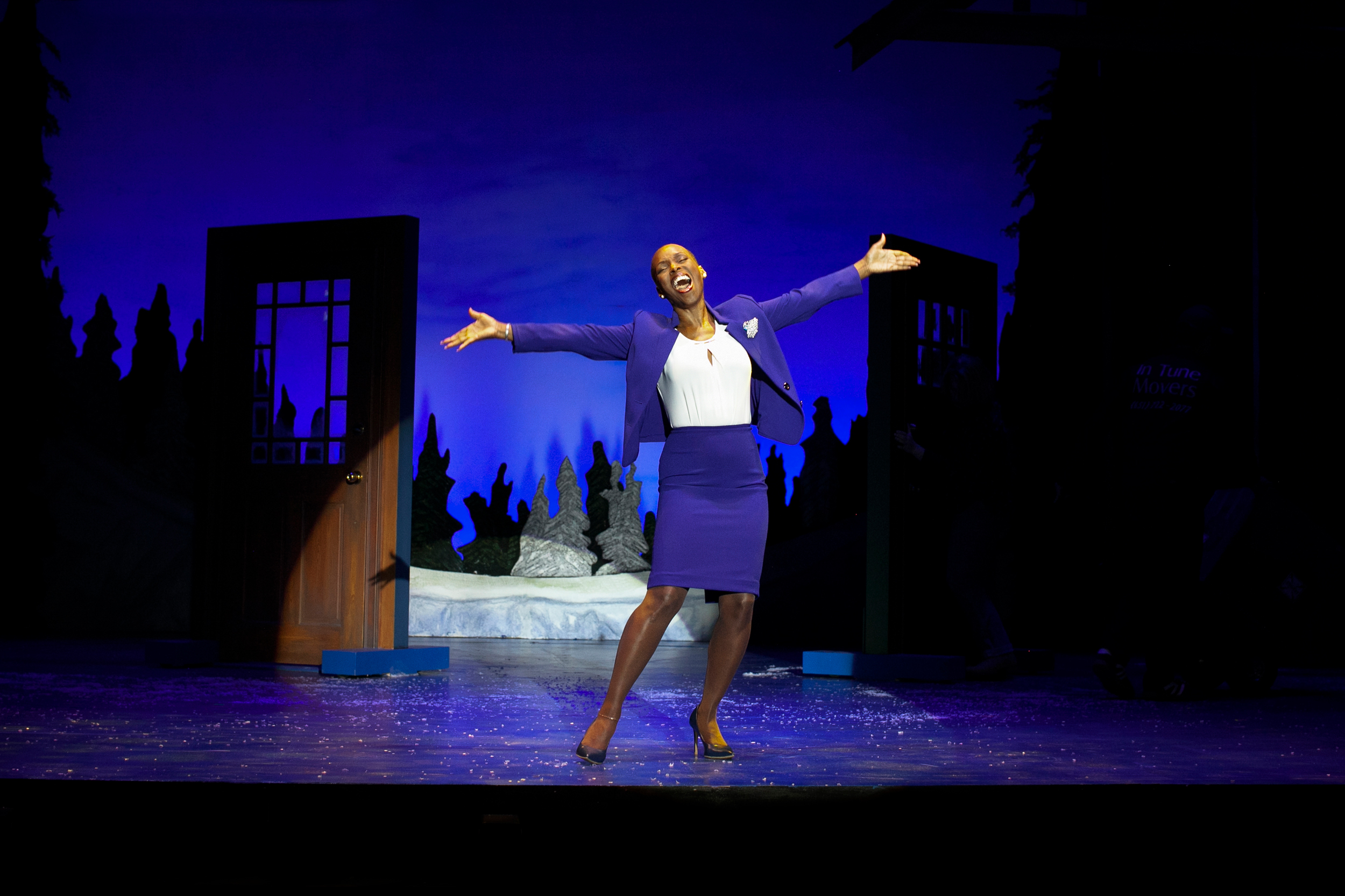 Tony nominee Brenda Braxton in Grumpy Old Men the Musical at the Ogunquit Playhouse. Photo by Jay Goldsmith.