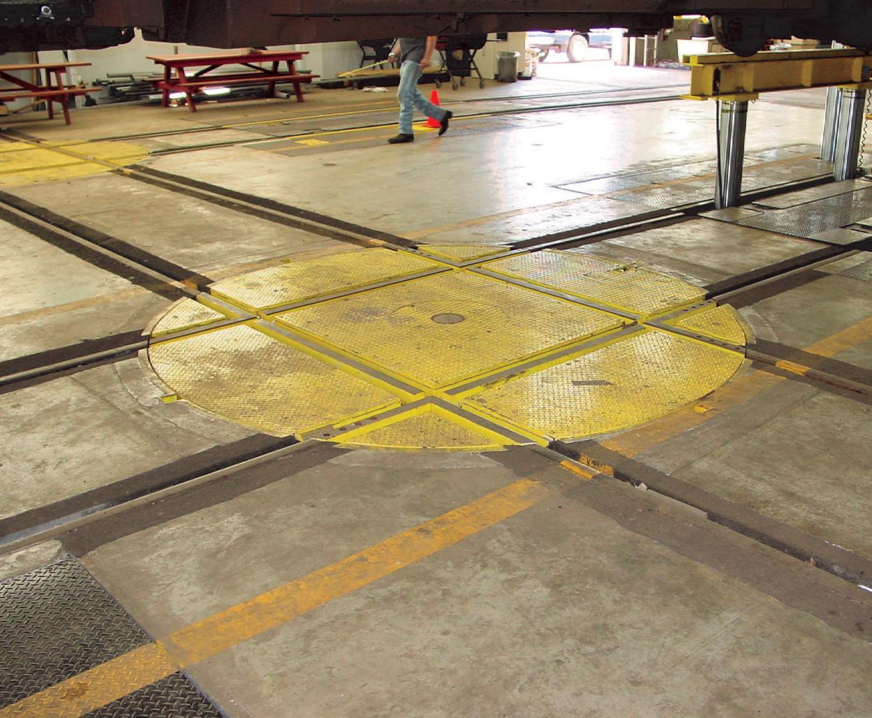 Wheel Truck Turntables
