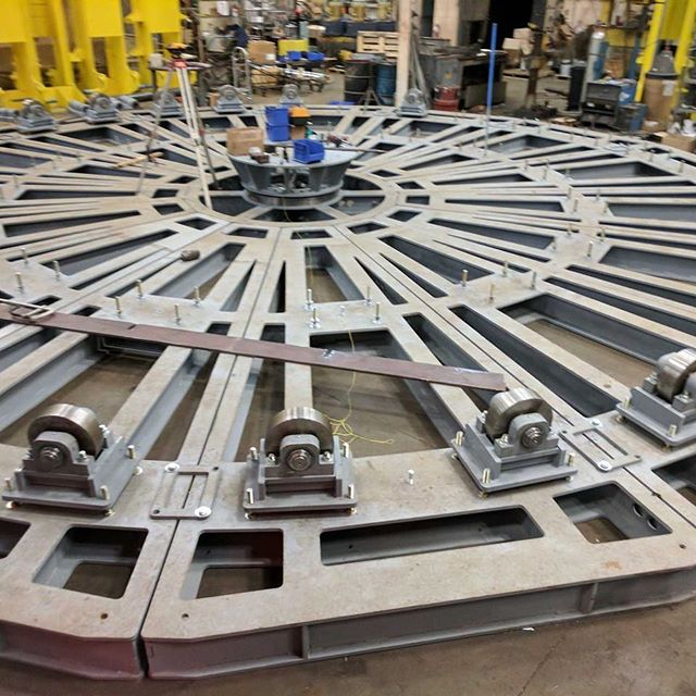Macton.com cable laying turntable. #freights #cable #cablelayingvessel #shipping #ships #ship #energy #rail