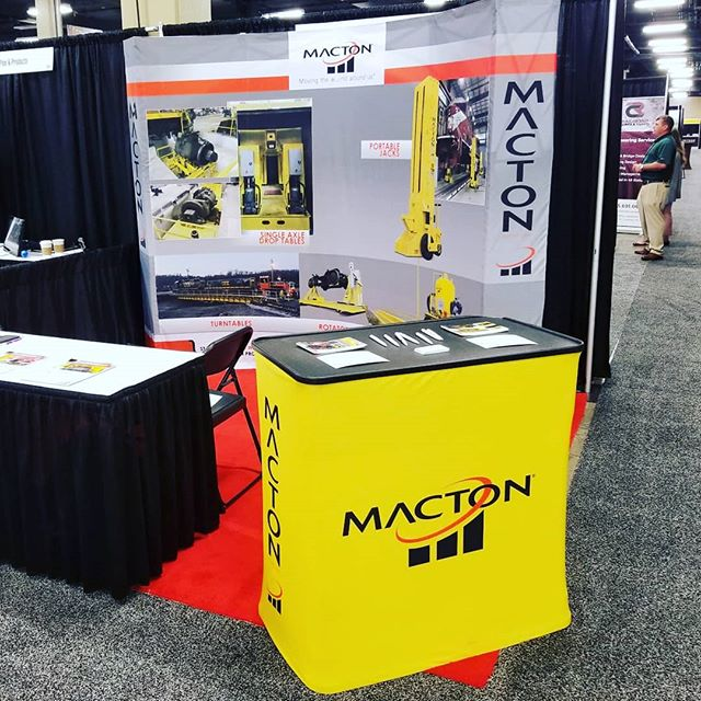 If you're at the #ASLRRA show in #Nashville stop by booth 1028 to enter our drawing to win a prize. Today is the final day of the exhibition and we look forward to meeting new people and seeing old friends!  #aslrra2018 #aslrraconnections #shortline #railroad