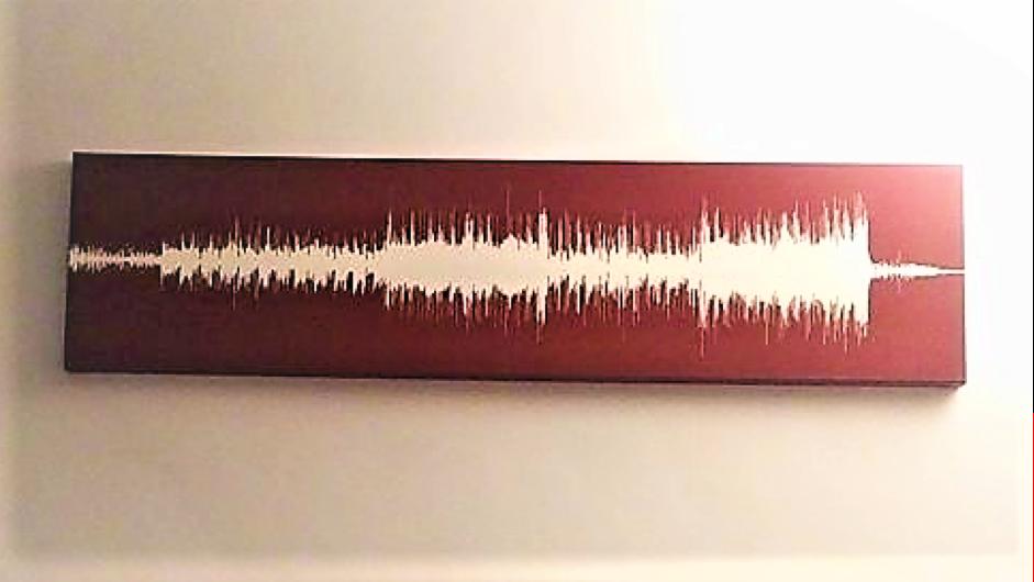 Sweet & Low by Fugazi - soundwave art