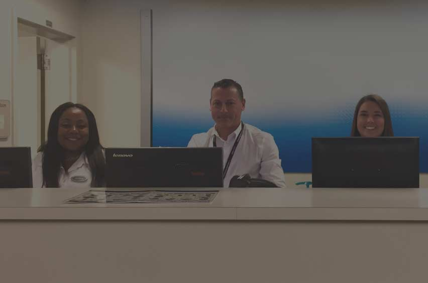Baggage Service Office -
