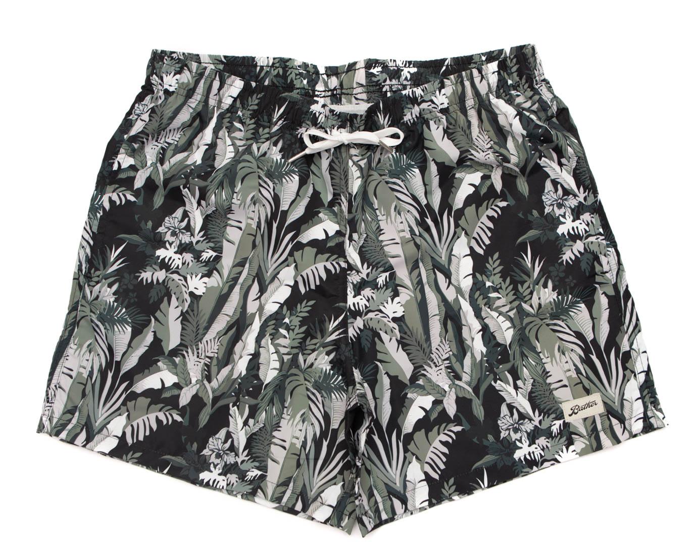 0242d15702 Green Tropical Forest Swim Trunk. bather.blackjungle.thumb.jpg