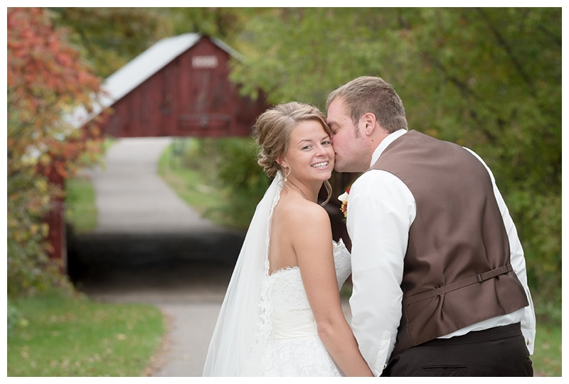 Wausau, WI fall wedding