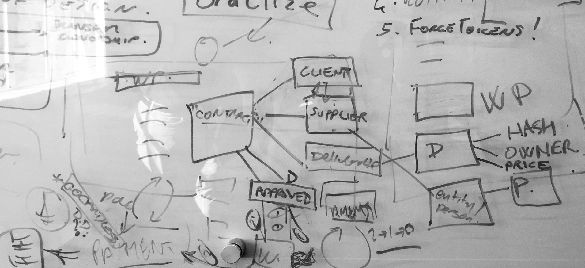 Creation in the blockchain -