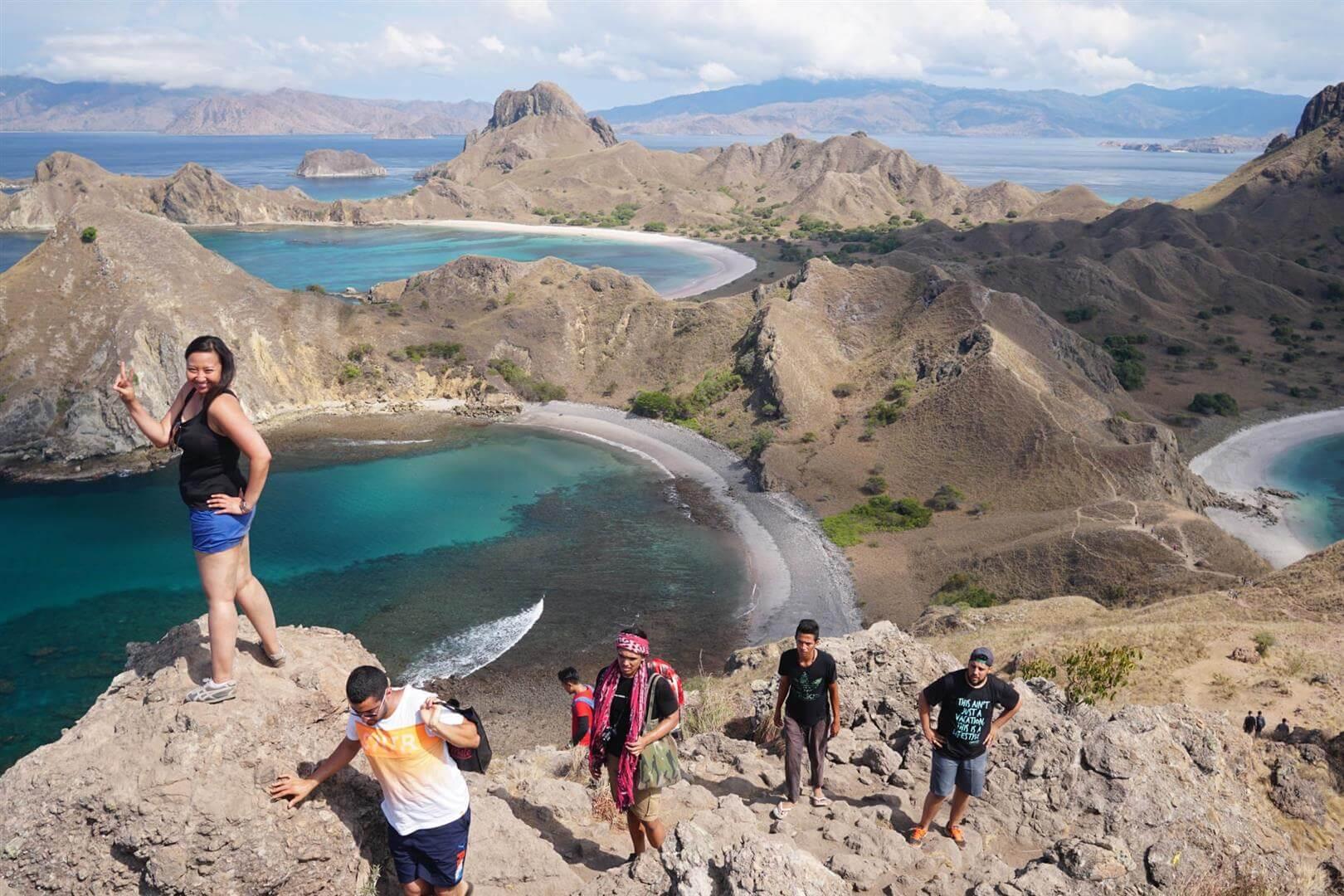 Tika Larasati | Photo: Sutiknyo | Location: Padar Island, Komodo National Park, Indonesia