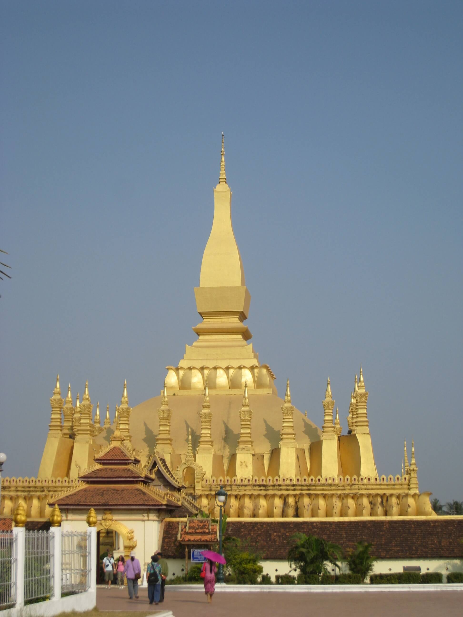 One of the many Stupas in Vientiane