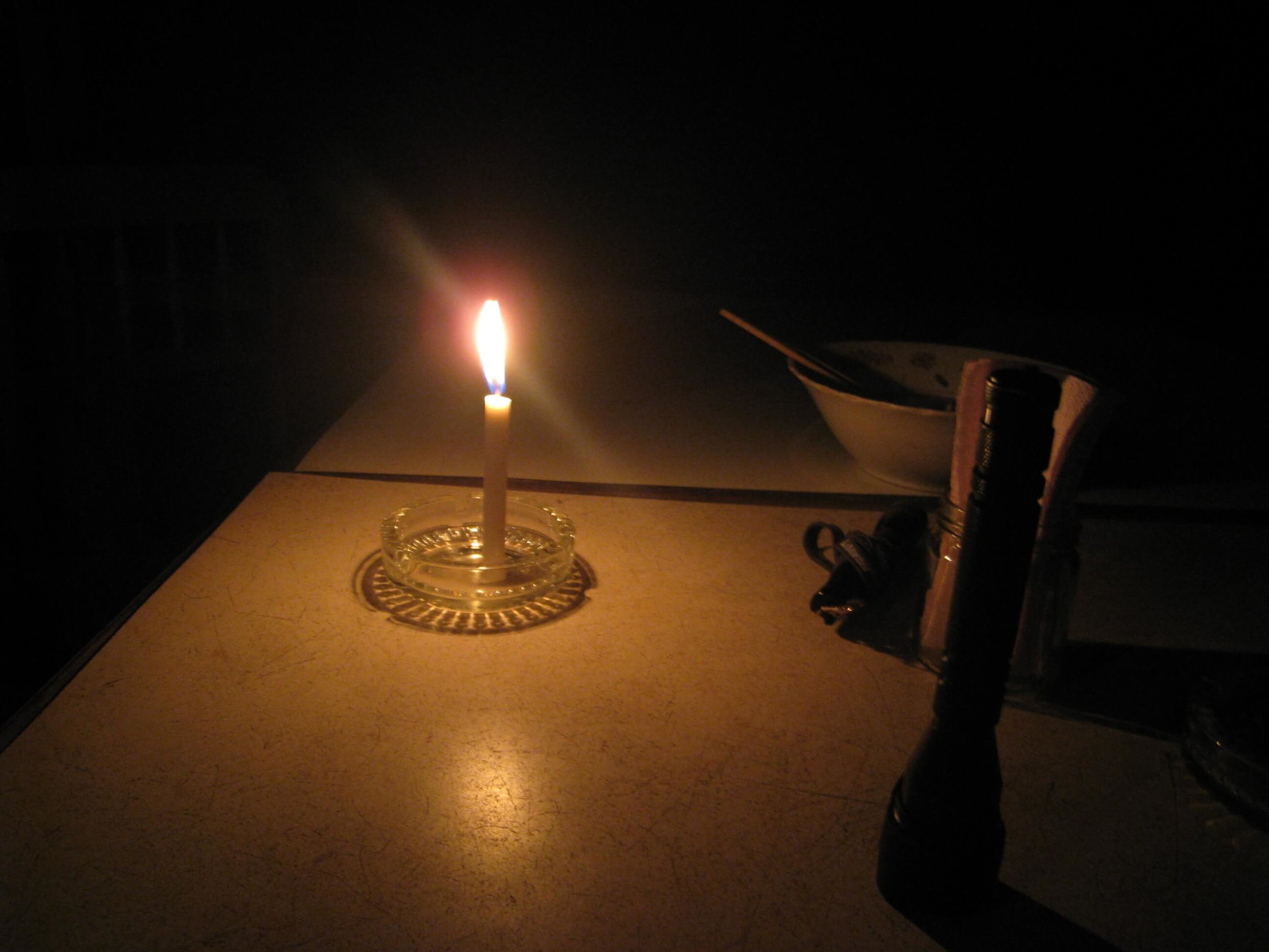 Make Do with what we had: a candle