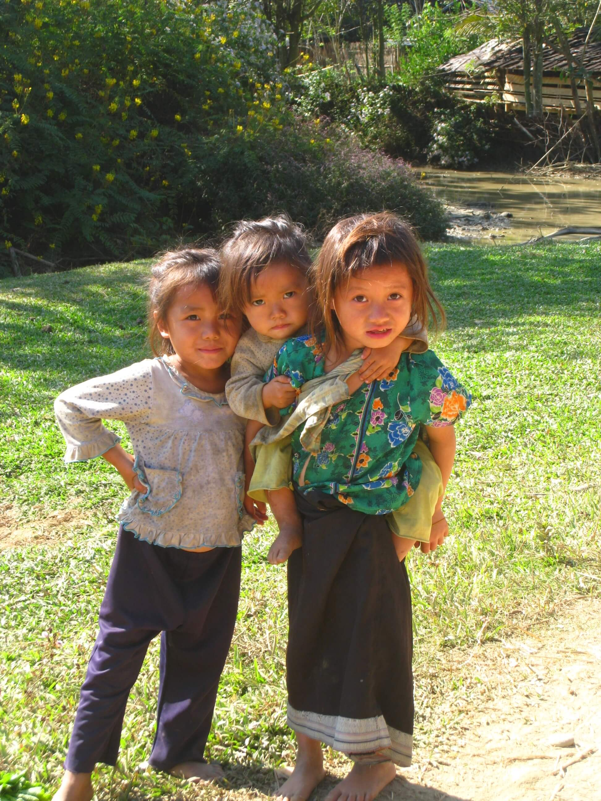 Local kids then, teenagers now - 8 Years Since my Trip to Laos