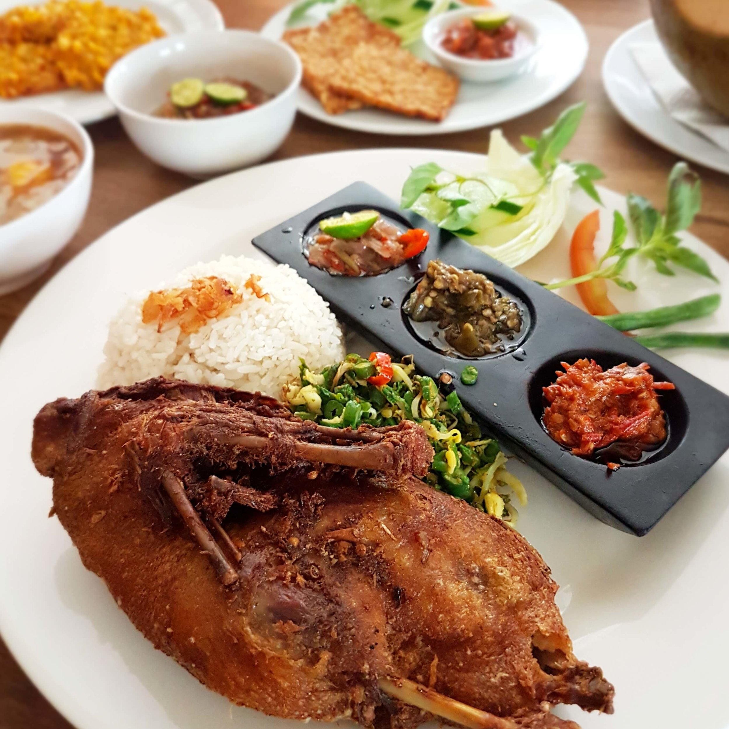 Crispy Duck at Waroeng Eropa | Bali, Indonesia | Photo: Tika L