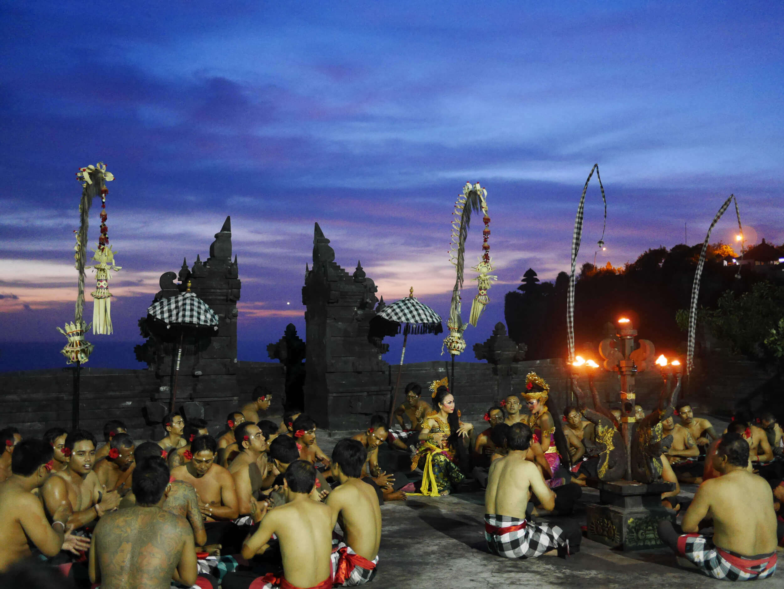 Kecak Dance and Sunset at Uluwatu Temple | Bali, Indonesia | Photo: Sutiknyo