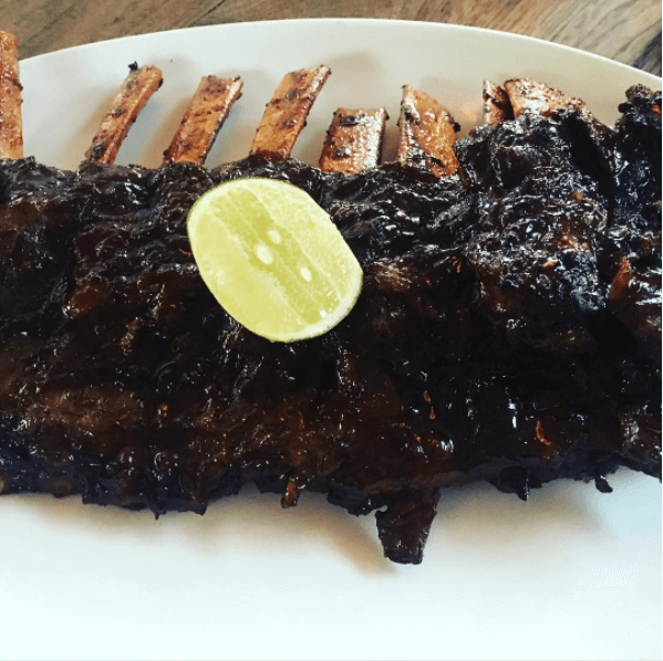 BBQ Pork Ribs at Hog Wild | Batu Belig, Bali