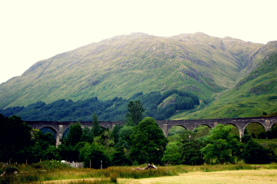 Drive to the famous Glenfinnan Viaduct