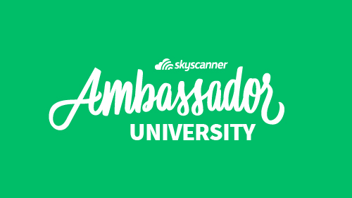 Skyscanner ambassador university