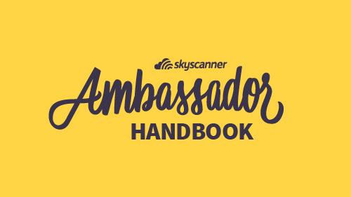 skyscanner ambassador handbook