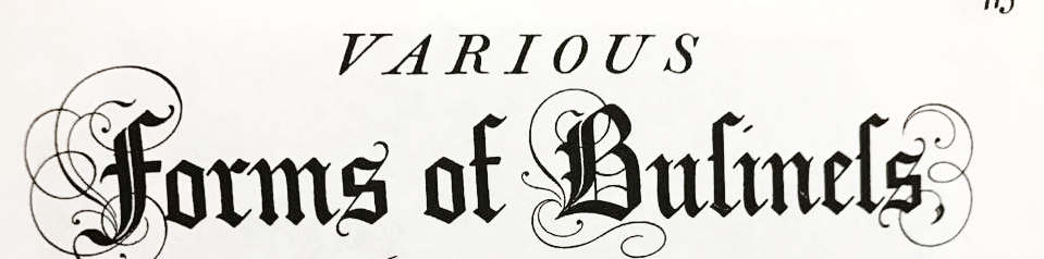 Blackletter Style Long s