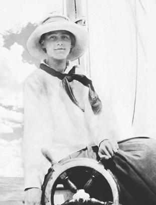 Granny Squibb Sailing in Narragansett